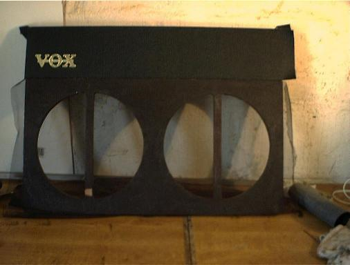 Vox AC30 repairs baffle board